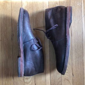 Cole Haan Leather Desert Boots